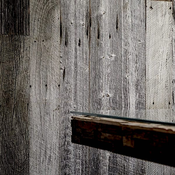 Grey Barn Wood Claddings For Wall Decoration