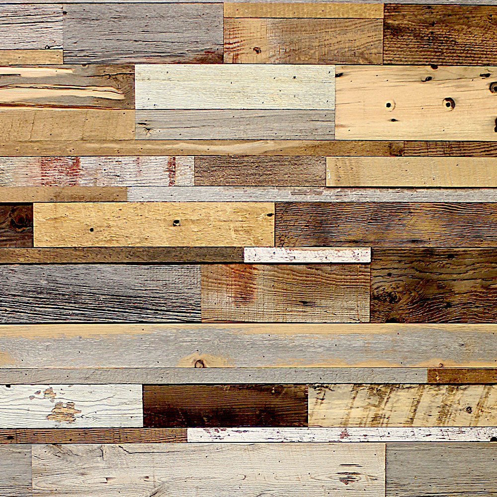 Patchwork recycled wood claddings for How to treat barn wood for bugs
