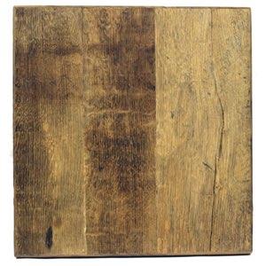 Recycled flooring table from barn wood - Table en bois vintage ...