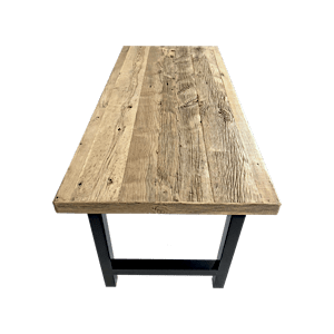 Old Oak Rustic Table For Sale