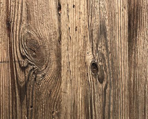 Vente de bardage vieux bois de grange brun