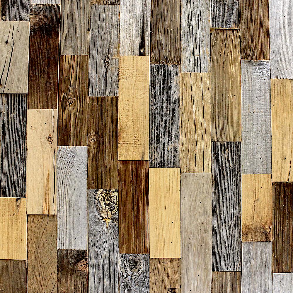 Decoration intérieure bardage vieux bois patchwork # Bardage Vieux Bois