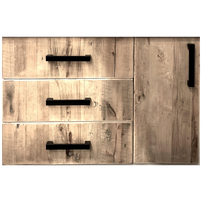 panneau bois ancien gris et brun en ch ne. Black Bedroom Furniture Sets. Home Design Ideas