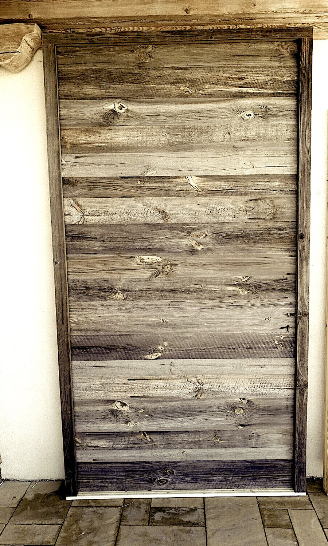 porte bois ancien gris d 39 interieur et exterieur. Black Bedroom Furniture Sets. Home Design Ideas