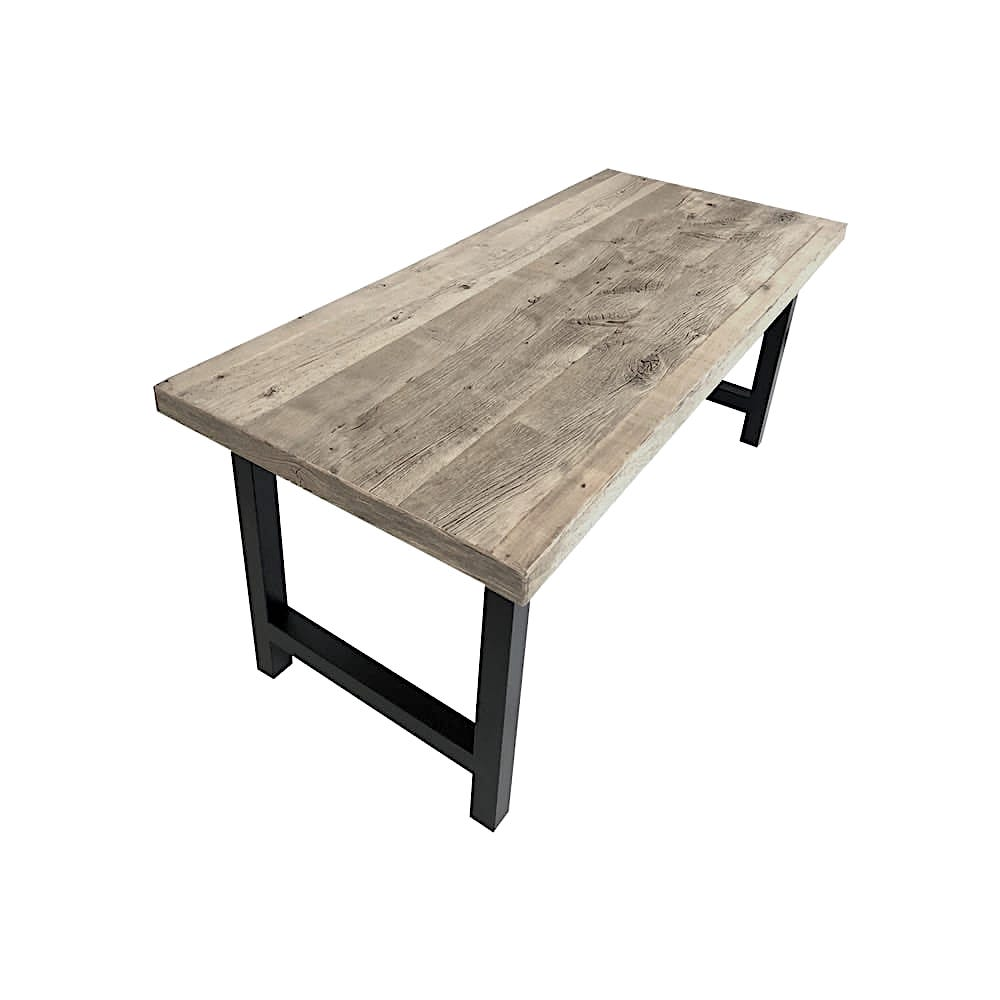 Plateau table bois recycle sur mesure for Plateau table sur mesure