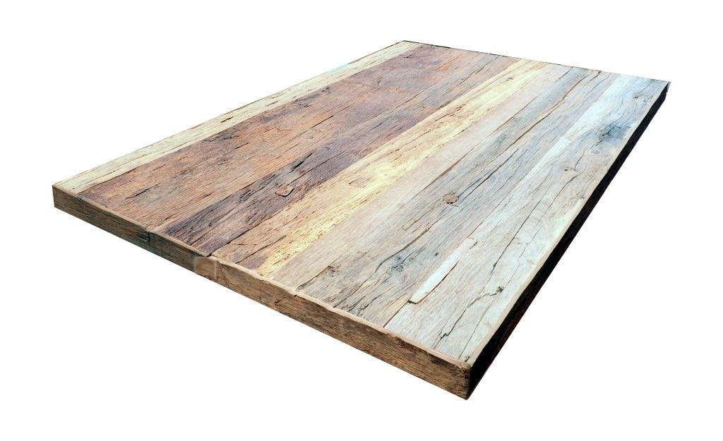 Acheter table vieux chene sur mesure