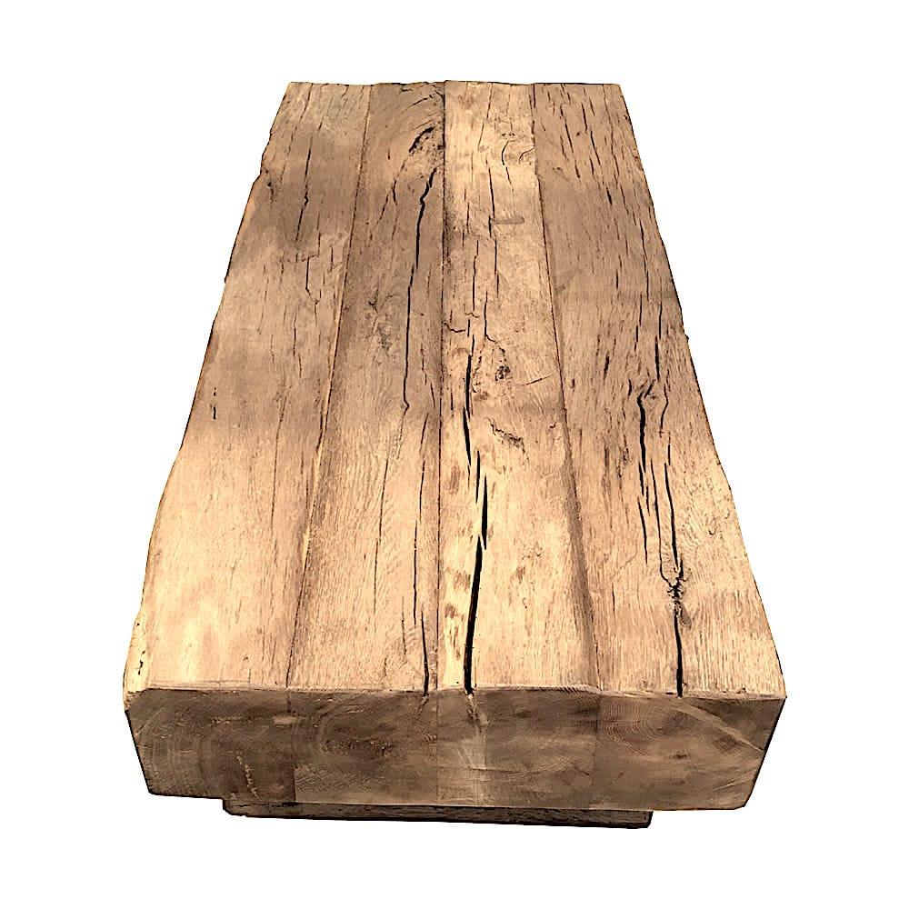table basse vieux bois de recuperation. Black Bedroom Furniture Sets. Home Design Ideas