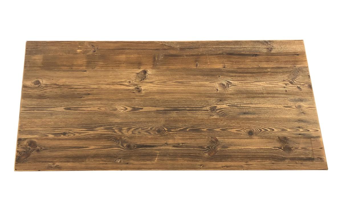 table vieux bois de grange sur mesure. Black Bedroom Furniture Sets. Home Design Ideas